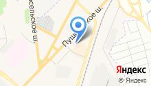 ДАФ на карте