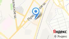 Шиномонтажная мастерская на Пушкинском шоссе на карте