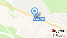Магазин цветов на Чёрной Речке (Всеволожский район) на карте