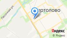 Магазин мяса на Восточно-Выборгском шоссе на карте