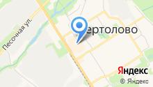 Магазин косметики на Восточно-Выборгское шоссе на карте