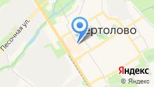 Мясной магазин на Восточно-Выборгском шоссе на карте