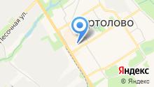 Сертоловский душевой павильон на карте