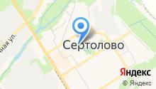 Сертоловская муниципальная детская библиотека на карте
