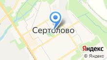 Продуктовый магазин на ул. Молодцова на карте