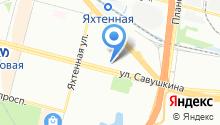33-й зуб на карте