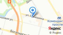53 отдел полиции Управления МВД Приморского района на карте