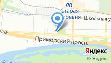 AdRiver на карте