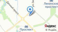 Бильярдный зал на карте