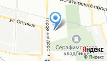 4 точки на карте