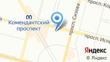 1344, ЖСК на карте