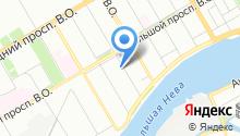 16 отдел полиции Управления МВД Василеостровского района на карте