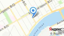 18 отдел Экспертно-криминалистического центра по Василеостровскому району на карте