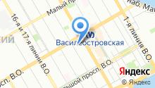 11-я адвокатская консультация Санкт-Петербурга на карте