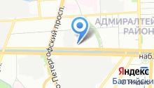 77 отдел полиции Управления МВД Адмиралтейского района на карте
