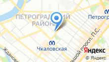 18-й отдел полиции Управления МВД Петроградского района на карте