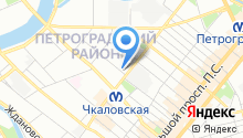 18 отдел полиции Управления МВД Петроградского района на карте