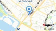 5 отряд ФПС по г. Санкт-Петербургу на карте