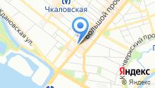 Айс трансфер на карте