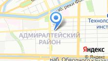 9 отряд ФПС по г. Санкт-Петербургу на карте