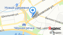 1-я Багетная мастерская на карте