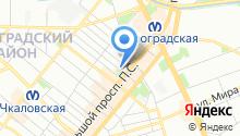Adress на карте