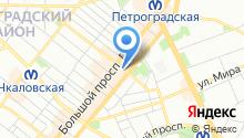 Сквот на карте