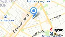 Муниципальное образование округ Кронверкское на карте