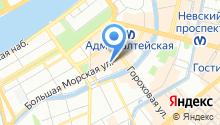 Adagio на карте