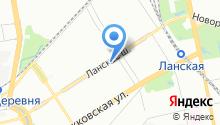 10100 сервис на карте