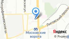 27 отдел Экспертно-криминалистического центра по Московскому району на карте