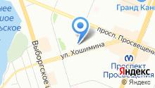 58 отдел полиции Управления МВД Выборгского района на карте