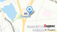 57 отдел полиции Управления МВД Выборгского района на карте