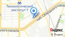 38 отдел полиции Управления МВД Адмиралтейского района на карте