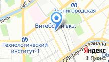 1С-ВЕКТРО на карте