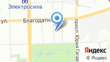 7 отряд ФПС по г. Санкт-Петербургу на карте
