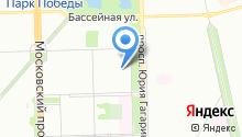 Санкт-Петербургский учколлектор, ЗАО на карте