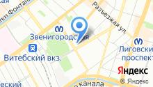 28 отдел полиции Управления МВД Центрального района на карте