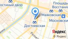 1С-Рарус-СПб на карте