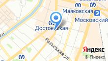 Н-Н в Петербурге на карте