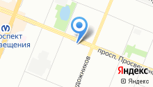 SVM на карте