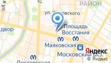ЛинзаСити на карте