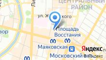 7 Fridays Hostel на карте