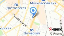 1С:ВДГБ на карте