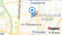 Санкт-Петербургский государственный академический театр балета им. Леонида Якобсона на карте