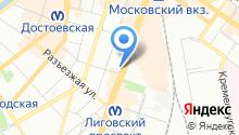 1С: ВДГБ на карте