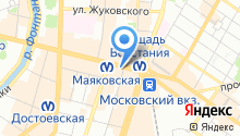 Средняя общеобразовательная школа №459 на карте