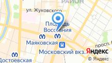 1001 тур на карте