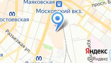1К на карте
