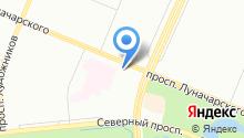 Клиническая больница №122 им. Л.Г. Соколова на карте